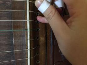 古筝怎么练摇指