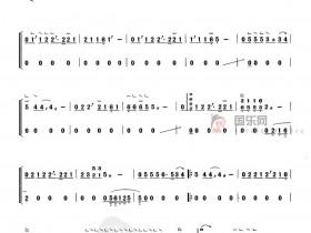 《东风破》勾、托、抹组合指法、变化音4、小撮、刮奏