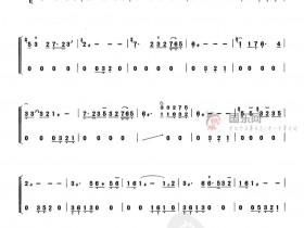 古筝流行曲谱、《知音》