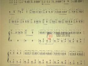 古筝考级曲谱(二级)《紫竹调》