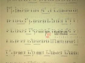 古筝考级曲谱(三级)《一点金》