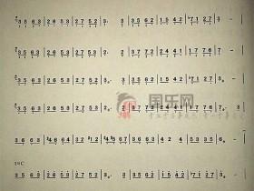 【凤凰于飞古筝曲谱】-玉面小嫣然