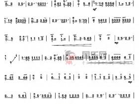 古筝考级曲谱(四级)《妆台秋思》