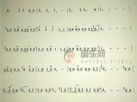 【清明雨上古筝曲谱】-玉面小嫣然